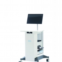 BTL CardioPoint Ergo PIC Unit Trolley Monitor OFF CMYK